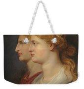 Agrippina And Germanicus Weekender Tote Bag