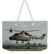 Agustawestland Lynx Helicopters Weekender Tote Bag