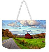 Ah...west Virginia Painted Weekender Tote Bag