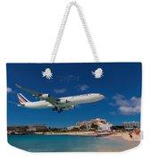 Air France At St. Maarten Weekender Tote Bag