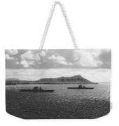 Aircraft Carriers In Hawaii Weekender Tote Bag