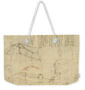 Aircraft The Machine Has Been Reduced To The Simplest Shape Weekender Tote Bag