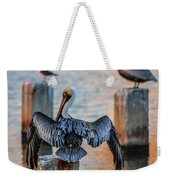 Airing Out Weekender Tote Bag by Shannon Harrington