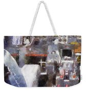 Airplane Cockpit Photo Art Weekender Tote Bag