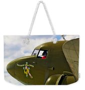 Airplane Named Southern Crosss Weekender Tote Bag