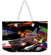 Airplanes Collage  Weekender Tote Bag
