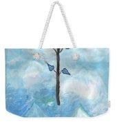 Airy Ace Of Wands Weekender Tote Bag