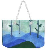 Airy Four Of Wands Weekender Tote Bag