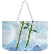 Airy Two Of Wands Weekender Tote Bag