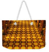 Church Aisle Patterned Floor Weekender Tote Bag