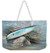 Ajs Baby Weakfish Saltwater Swimmer Fishing Lure Weekender Tote Bag