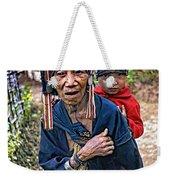 Akha Tribe II Weekender Tote Bag