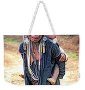 Akha Tribe Weekender Tote Bag