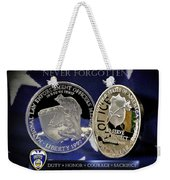 Akron Police Memorial Weekender Tote Bag