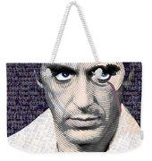 Al Pacino Again Weekender Tote Bag