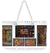 Al Scarface Capone's Cell Weekender Tote Bag