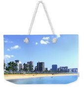Ala Moana Beach Park And Diamond Head Weekender Tote Bag