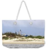 Alabama - Gulf Of Mexico Shrimper - Beautiful Day For Fishing Weekender Tote Bag