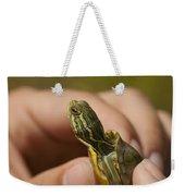 Alabama Red-bellied Turtle -  Pseudemys Alabamensis Weekender Tote Bag