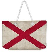 Alabama State Flag Weekender Tote Bag