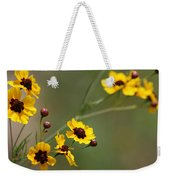 Alabama Wildflowers Coreopsis Tinctoria Tickseed Weekender Tote Bag
