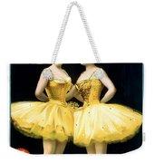 Aladdin Jr Ballerinas Weekender Tote Bag