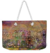 Alamo After The Fall - Square Version Weekender Tote Bag