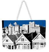 Alamo Square -  Royal Blue Weekender Tote Bag