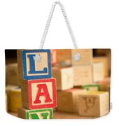 Alan - Alphabet Blocks Weekender Tote Bag