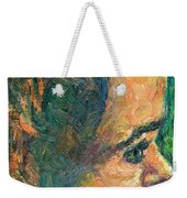 Alan By Our Window Weekender Tote Bag