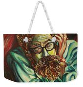 Alan Ginsberg Poet Philosopher Weekender Tote Bag