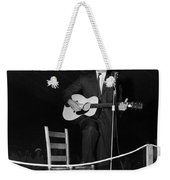 Alan Lomax (1915-2002) Weekender Tote Bag
