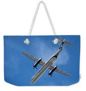 Alaska Airlines Turboprop Wide Version Weekender Tote Bag