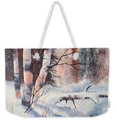 Alaska Birch II Weekender Tote Bag