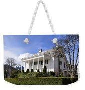 Alaska Governors Mansion Weekender Tote Bag