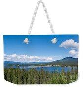 Alaska Highway Steel Bridge Teslin Yukon Canada Weekender Tote Bag