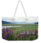 Alaska - Juneau Wetlands Weekender Tote Bag