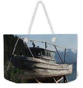 Alaska Ketchikan Dry Dock Weekender Tote Bag