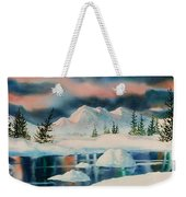 Alaska Panorama Weekender Tote Bag