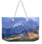 Alaska Range And Foothills Denali Weekender Tote Bag
