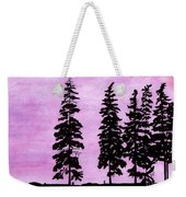 Colorful - Alaska - Sunset Weekender Tote Bag