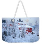 Alaskaland Train Station I Weekender Tote Bag