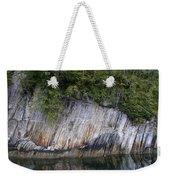 Alaskan Cliff Weekender Tote Bag
