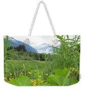 Alaskan Glacier Beauty Weekender Tote Bag