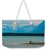 Alaskan Grizzly And Spring Cub Weekender Tote Bag