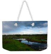 Alaskan Moose 3 Weekender Tote Bag