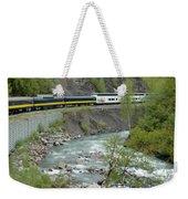 Alaskan Railroad Weekender Tote Bag