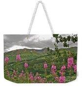 Alaskan Summer Weekender Tote Bag