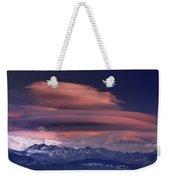 Alayos Mountains At Sunset In Sierra Nevada Weekender Tote Bag