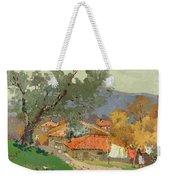 Albanian Countryside Weekender Tote Bag